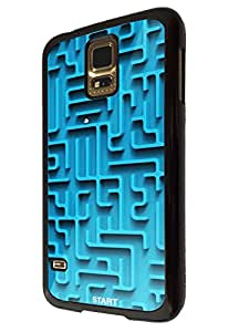 Samsung Galaxy S5 i9600 FCool Fun maze Print Look ***PLEASE NOTE THIS IS ONLY A PRINT NOT A REAL MAZE***197 ashion Trend Design Case Back Cover Hard plastic / Thin Metal