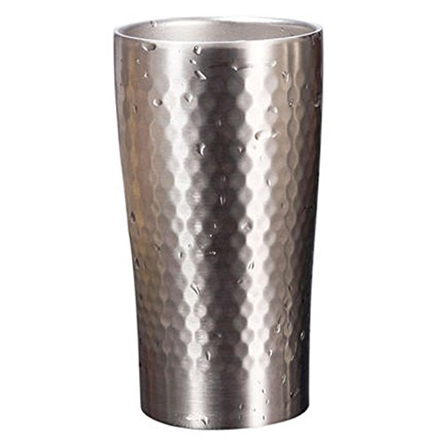 Justcook Beer Tumbler,14.5oz Water Bottle Double Wall 304 Stainless Steel,Hot and Cold Coffee Beverage Cup for Office Home Hotel