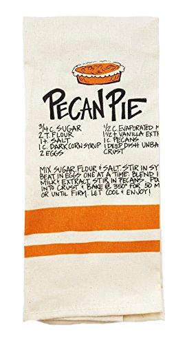 Southern Recipe Dish Towel by Magnolia Lane ( Pecan Pie) -