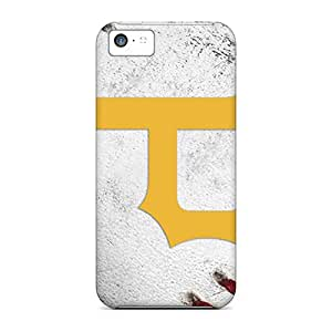 Protector Cell-phone Hard Cover For Iphone 5c (Tgm2521VTzL) Support Personal Customs High Resolution Pittsburgh Pirates Pattern