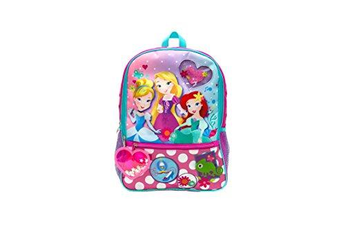 Disney Girls' Princess Dangle Backpack, Pink, One Size by Disney