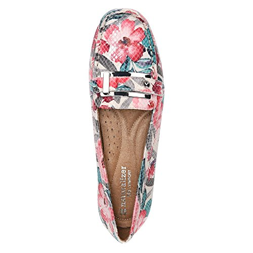 Naturalizer Gisella Cream Multi Floral Snake