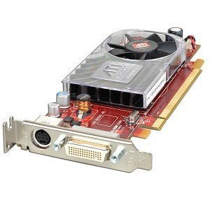ATI Radeon HD 3450 256MB DDR2 PCI Express (PCI-E) DMS-59 Low Profile Video Card w/TV-Out & DMS-59 Cable (Ati Drivers)