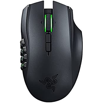 Razer Naga Epic Chroma Multi-Color Wireless MMO Gaming Mouse with 19 Buttons and 8200 dpi  (RZ01-01230100-R3U1)