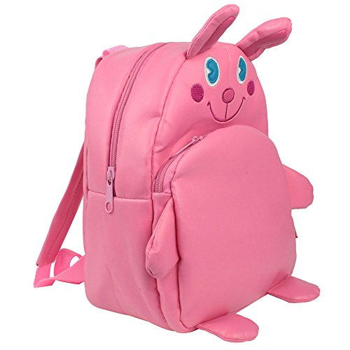 Womdee Rabbit PU Leather Animal Backpack Schoolbag for Children Toddler With Womdee Accessory
