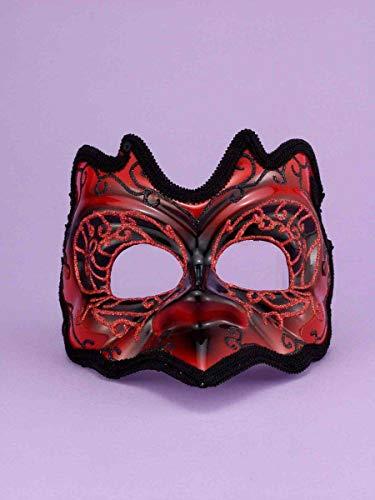 Forum Novelties 58030 Half Best Ever-Demon Mask ()