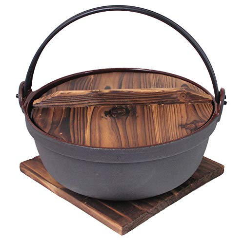 "Happy Sales HSTBT1, Cast Iron Takoyaki Pan, 8"" L x 7-3/8 D ..."