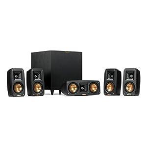 Flashandfocus.com 414uyeIz9oL._SS300_ Klipsch Black Reference Theater Pack 5.1 Surround Sound System