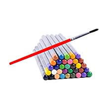 Ohuhu 36-color Watercolor Pencils / Water Soluble Colored Pencil Set