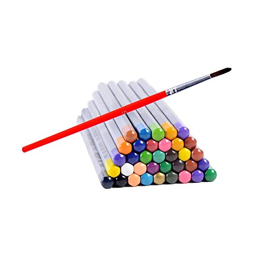 Ohuhu 36 color Watercolor Pencils Soluble