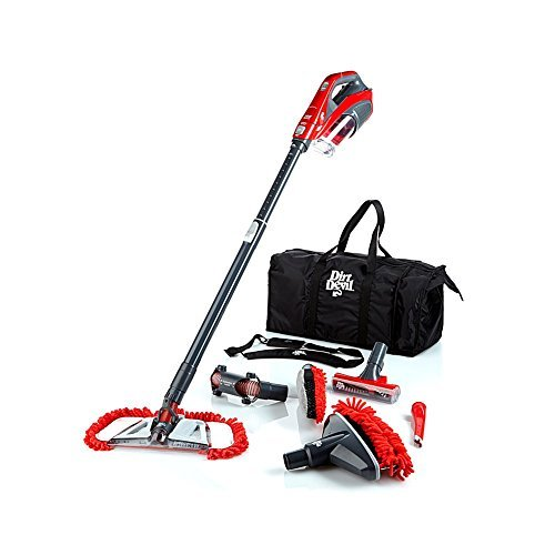 (Dirt Devil 360 Degree Reach Pro Pet Bagless Stick Vacuum, SD12517BPC - Corded)