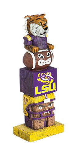 (Team Sports America NCAA LSU Tigers Tiki Totem)