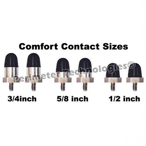 "Perimeter Technologies Comfort Contacts 1/2"" Black"