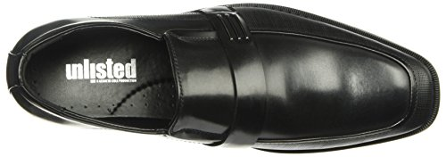 Unlisted By Kenneth Cole Mens Design 30382 Mocassino Nero