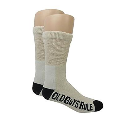 Hot Old Guys Rule White Wool Crew Socks hot sale