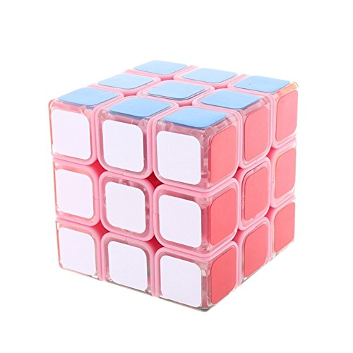 Baidecor Cube Puzzle 3 Layers Pink