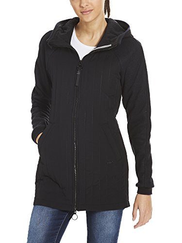 Nero Slim Bench Beauty Coat Material Bk11179 Mix Giubbotto Donna Black Core ORwRq5x0