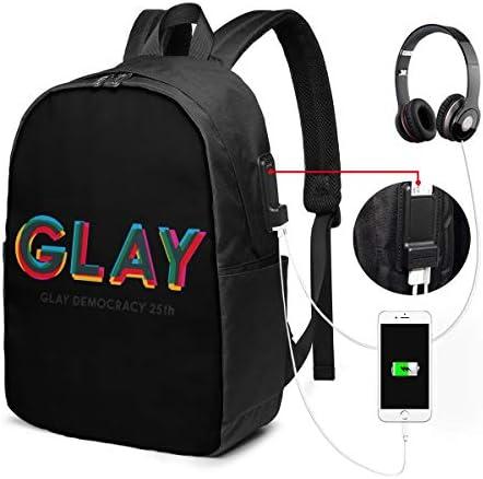 ビジネスリュック グレイ メンズバックパック 手提げ リュック バックパックリュック 通勤 出張 大容量 イヤホンポート USB充電ポート付き 防水 PC収納 通勤 出張 旅行 通学 男女兼用