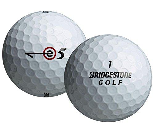 Bridgestone Golf 2013 e5 Golf Balls (Pack of 12), White