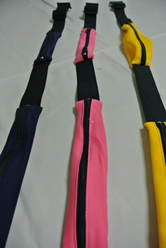 Bogu4u= One Deluxe Travel Kendo Shinai bag and One Belt Pockets (2 Colors Available) for Tournament (Including One Free Double-Knit Tenugui)