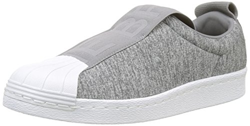 Grey Grey Two F17 Grey adidas Three White 000 W Women's Footwear F17 Bw3s Superstar Gymnastics Slipon Shoes Wz01PUWq