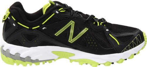 New Balance Mujeres Wt610 Trail Running Shoe Black / Green
