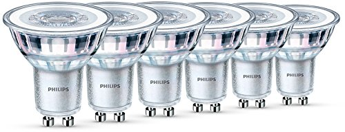 Philips LED Classic 4.6 W GU10 Glass LED Spot Light (Replacement for 50 W...
