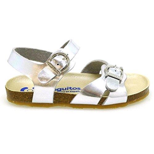049ce6f9c Zapatos Niña Sandalias Conguitos Gv1 28501 Plata 28  Amazon.es  Zapatos y  complementos