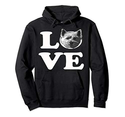(I Love My Westie Westy Dog Pullover-Hoodie)