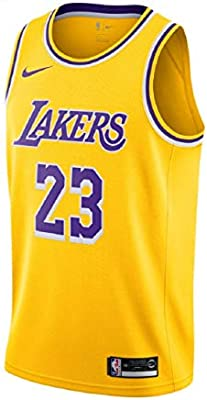 d561a59f6d9 NIKE Men s Los Angeles Lakers Lebron James 2018-19 Icon Edition Swingman  Jersey. Loading Images.