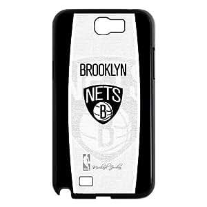 Custom Brooklyn Nets Hard Back Cover Case for Samsung Galaxy Note 2 NT815