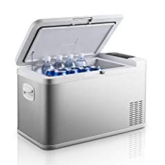 ❄General IntroductionThe Ausranvik portable fridges are designed to provide excellent cooling performance, even at extreme ambient temperatures and with minimal power consumption, it could freeze down to -4°F (-20°C) and keeps the food frozen...