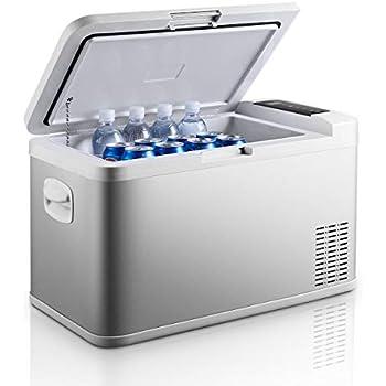 Ausranvik 26-Quart Portable Fridge Car Refrigerator Car Fridge Car Freezer -4°F ~ 68°F - 12V/24V DC