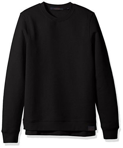 Scotch & Soda Sweatshirt Classic - schwarz Größe M