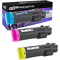 Speedy Inks - 3PK Compatible CMY Toner Cartridge for Dell H625/H825 Laser Printers 593BBOX 593BBOY 593BBOZ