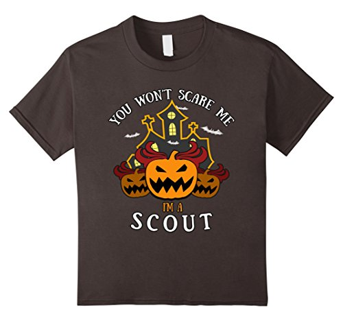 Kids You Won't Scare Me I'm Scout Tee 8 (Evil Girl Scout Costume)