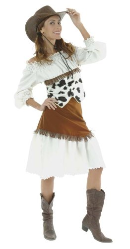 Cesar D338-005 - Disfraz de vaquera Lilly, talla 40: Amazon.es ...