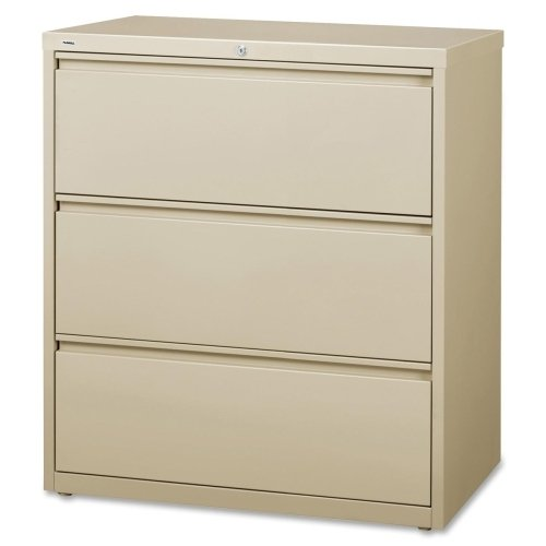 Lorell LLR88027 3-Drawer Lateral Files, 36
