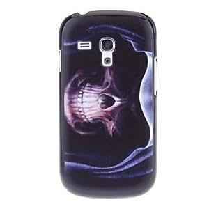 CL - Patrón cubierta de la caja del cráneo Asistente dura para Samsung Galaxy S3 I8190 Mini