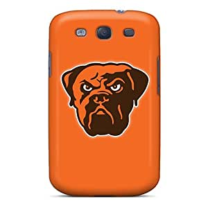 Perfect Cleveland Browns 5 Cases Covers Skin For Galaxy S3 Phone Cases