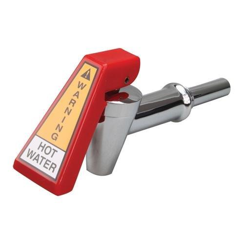 (Bunn 29075.0000 Hot Water Faucet Red Handle Chrome Shank W/Hose Fitting for Bunn Axiom 581181)