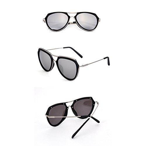 C de mode soleil soleil Lunettes lunettes mode conduite rose lunettes réfléchissante rétro verres lentille lunettes soleil Hommes de rondes de soleil coréenne de zqE88Bn