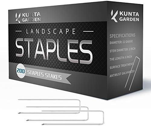 KUNTA GARDEN Galvanized Landscape Artificial product image