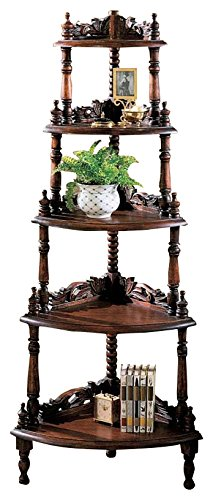 Design Toscano Five Tier Edwardian Corner Shelf by Design Toscano