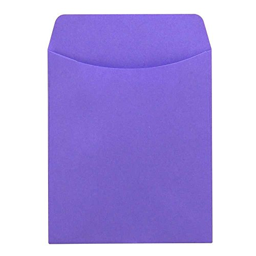 Hygloss Products Library Card Pockets, Non-Adhesive, 3.5 ...
