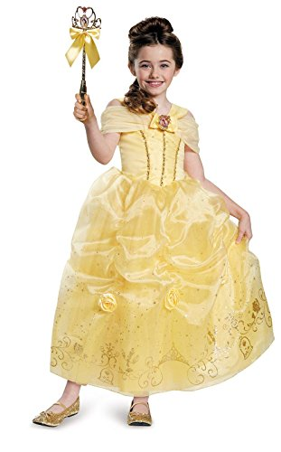 Belle Prestige Disney Princess Beauty & The Beast Costume, Small/4-6X