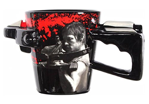 Walking Dead TV Show Mug - Daryl Dixon Zombie Undead Crossbow Cup ;supply_from:marsales100