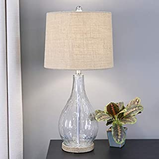 Décor Therapy TL17216 Table lamp, Clear