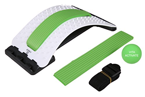 - Best Arched Back Stretcher As Seen Doctors TV - CHISOFT Lumbar Stretching Device | Improve Posture, Get Muscle Tension, Sciatica Back Pain Relief