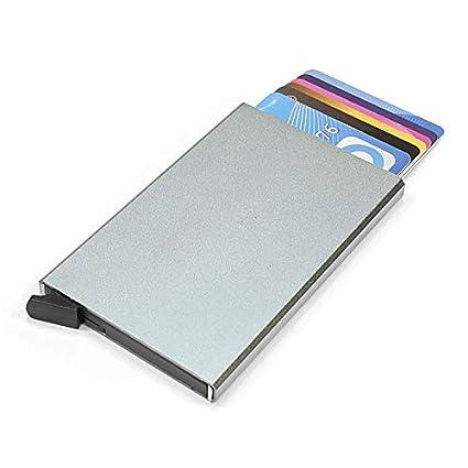 Protector de Tarjetas RFID de Aluminio | Funda 100 ...